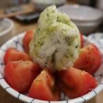 呑ん処 二○九 - 冷やしトマトバジル350円