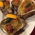 89863425 - 岩牡蠣の香草焼き