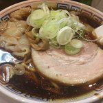 丸 中華そば - ワンタン麺