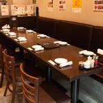 蓬溪閣 - 4人テーブル