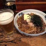 牛の力 - 生小&牛丼(白)