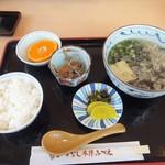 万福亭 - 深江名物 ろくべえ定食(895円)