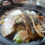 万福亭 - 具雑煮穴子素麺(980円)