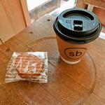スウィング バイ コーヒー - ガレット ブルトンヌとハンドドリップコーヒー