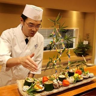 味への想いを胸に、心を込めた料理でおもてなしをいたします