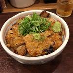 炭火焼豚丼 信玄 - 豚丼 ロース 醬油 並