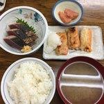 魚力 - ハーフ&ハーフ定食