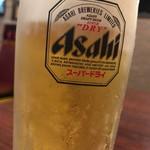 天府 - 生ビール