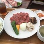 天野ファミリーファーム - 白老牛ファミリーセット1900円