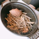サンス・エ・サヴール - 藁焼きの鴨