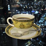 カフェ ド シエル - ワッフルセット 1,404円(税込)の ブレンドコーヒー。     2018.07.23