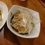 東京担々麺  ゴマ哲 - 棒棒鶏
