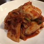 中華料理 八戒 - キムチ