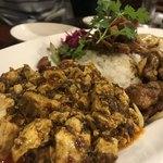中華料理 八戒 - 麻婆豆腐カリィ側から