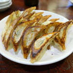 中華料理 八戒 - にんにくたっぷり餃子