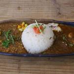 スパイスカレー ハナビー - 料理写真: