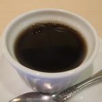 89877428 - 鰈(カレイ)の煮付け定食に付くコーヒーゼリー