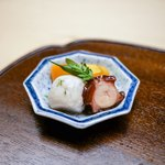 木山 - ☆蛸の柔らか煮、白芋茎、南瓜
