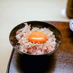 木山 - ☆削り節と玉子のご飯