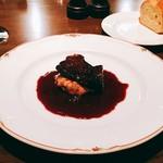 89877886 - 牛ホホ肉の赤ワイン煮込み