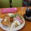 憩 - 料理写真:トーストプレート
