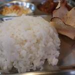 日本一小さなインド家庭料理 ドーン食堂 印度山 - ライス