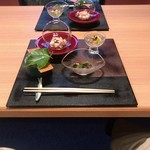 かわうち - 料理写真:前菜