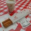 カフェテリア サルー - 料理写真:チュロス&珈琲