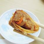 中華料理天鳳 - 春巻の内部