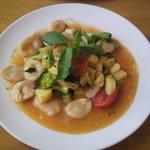 カフェ アリス - 夏野菜とアンチョビのオリキエッテ