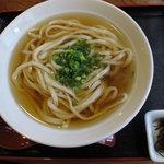 麺豪 のざき - かけうどん・ひやひや ¥400