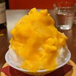テストキッチンエイチ - 日光四代目徳次郎天然氷のかき氷