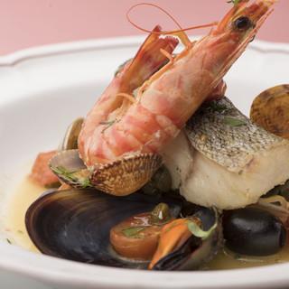 """何度でも訪れたい、""""旬""""を大切にしたカジュアルイタリア料理。"""