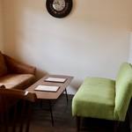 リビング カフェ ヨッコ - ソファー席