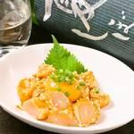 瀧伊 - 料理写真:鶏ささみユッケ