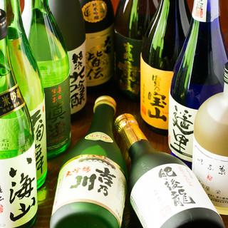 ◇日本酒・焼酎◇ドリンクの品数豊富!お食事とご一緒に○