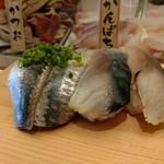 寿司 魚がし日本一 - 結局ランチで足りな、、いや鰯があまりにも美味そうだったので。