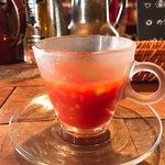 89885491 - 冷製トマトスープ
