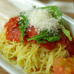 麺Dining セロリの花 - 冷製トマト麺(680円)
