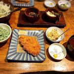 89893570 - ねぎ塩ロースカツ定食