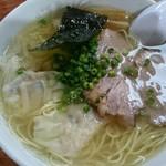 89896730 - 塩雲呑麺 ¥1050