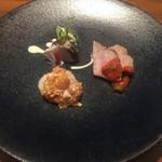 アンティカ トラットリア クロノ - 前菜3種