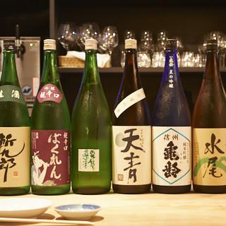 希少な日本酒・焼酎・ワインが多数!