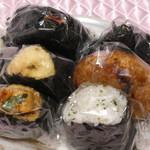 おにぎり 川井亭 - 料理写真:今回購入の6点