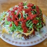 キングタコス - 料理写真:タコライス(野菜, チーズ)