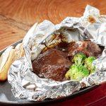 ステーキ食堂BECO - デミ煮込みバーグ