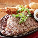 ステーキ食堂BECO - リブロースステーキ&シーフードフライ