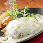 ステーキ食堂BECO - チーズチーズハンバーグ
