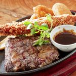 ステーキ食堂BECO - ハラミステーキ&シーフードフライ