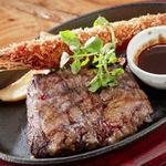 ステーキ食堂BECO - ハラミステーキ&エビフライ
